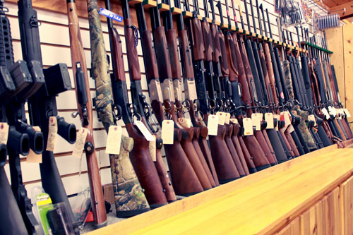 Log Cabin Store firearms
