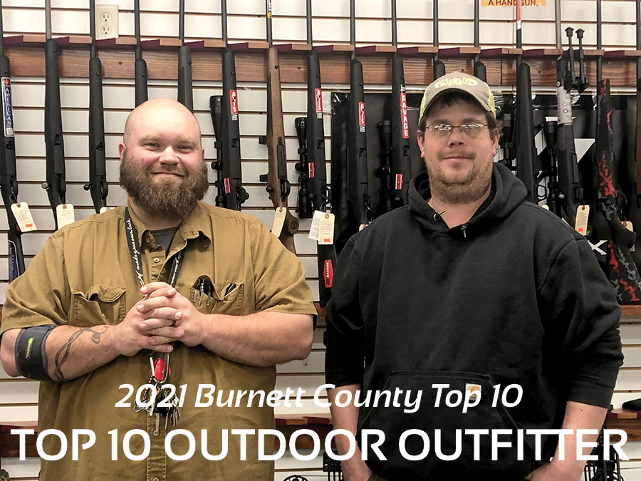 Burnett County 2021 Top 10 Outdoor Outfitter